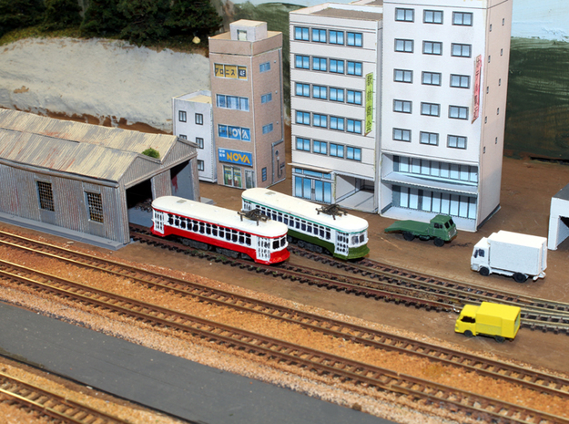 Streetcar II - Zscale in Smooth Fine Detail Plastic