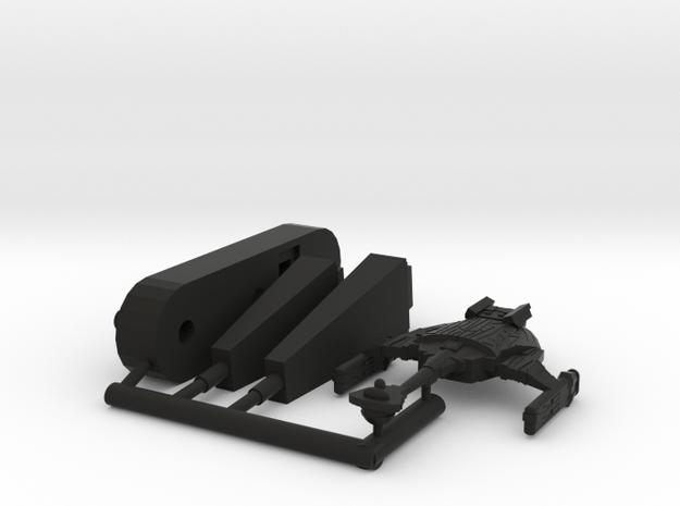 6k D9F Seeker in Black Natural Versatile Plastic