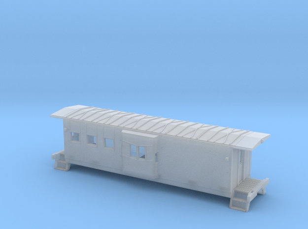 HO Chessie C-27 Caboose Shell Athearn BB in Smooth Fine Detail Plastic