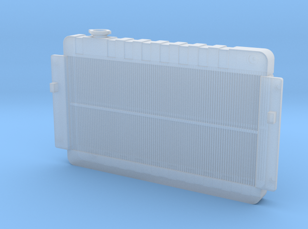1/25 Radiator in Smooth Fine Detail Plastic