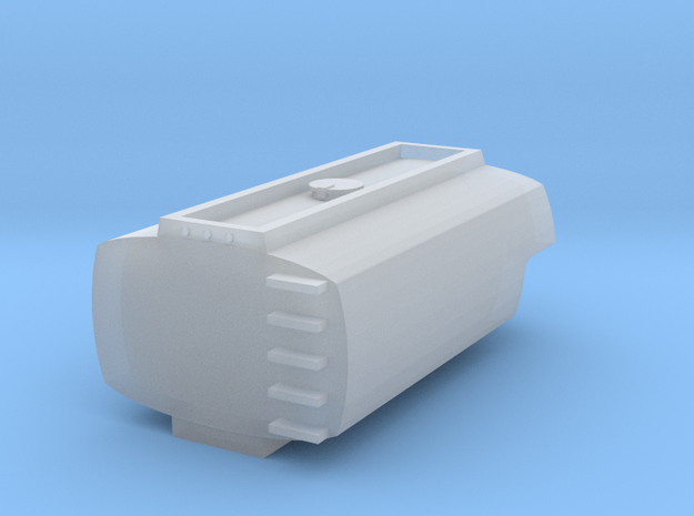 1/87 3200gal aluminum tank in Smoothest Fine Detail Plastic