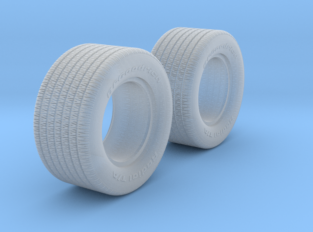 1/25 BFG 10 inch 70 series x2 in Smooth Fine Detail Plastic