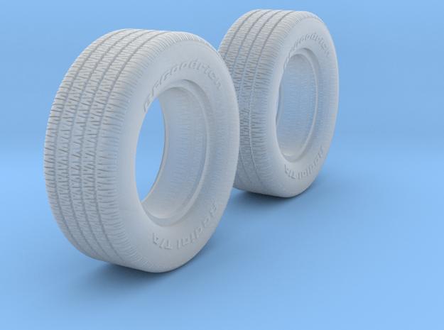 1/25 BFG 7 inch 70 series x2 in Smooth Fine Detail Plastic