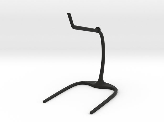 The Expanse: 150mm Ship Stand Flat in Black Natural Versatile Plastic