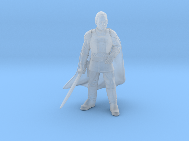 authority viscount (with sword) in Smooth Fine Detail Plastic