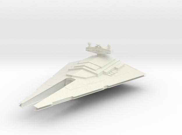 (Armada) Conqueror-Class Star Destroyer V1 in White Natural Versatile Plastic