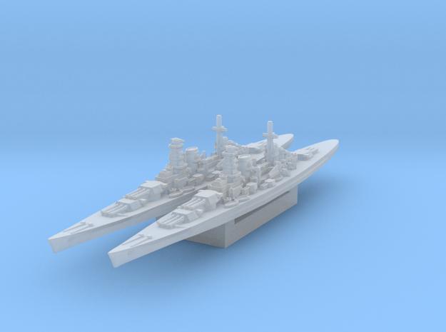 Kronshtadt Battlecruiser 1/3000 x2 in Smooth Fine Detail Plastic