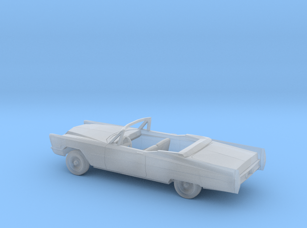 1/160 1967 Cadillac DeVille Convertible Open Kit in Smooth Fine Detail Plastic