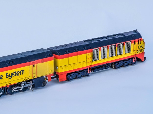 ACE 3000 Support Unit Shell in Smooth Fine Detail Plastic