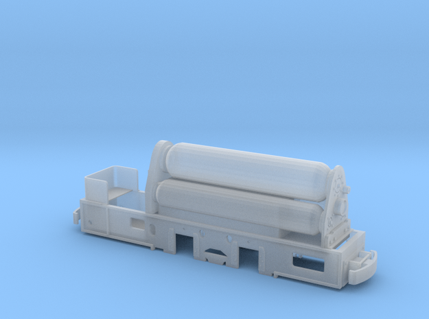 Grubenlok - Jung Pz 20 - Druckluftlok in Smoothest Fine Detail Plastic