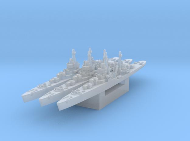Soviet light cruiser MLK-16-130 1/2400 in Smooth Fine Detail Plastic
