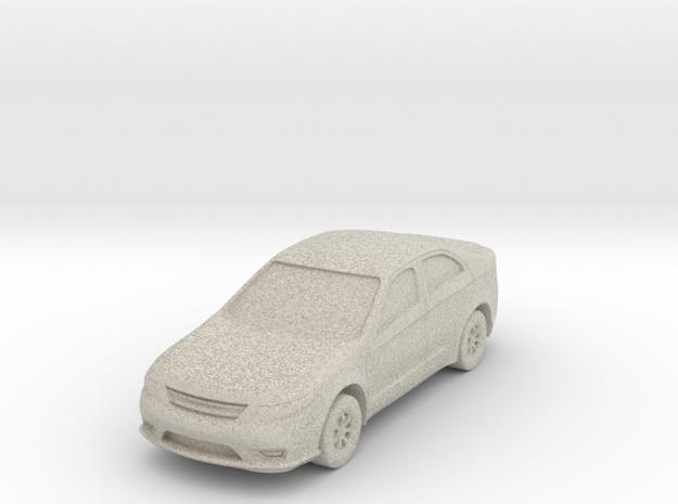 "Car at 1""=8' Scale in Sandstone"