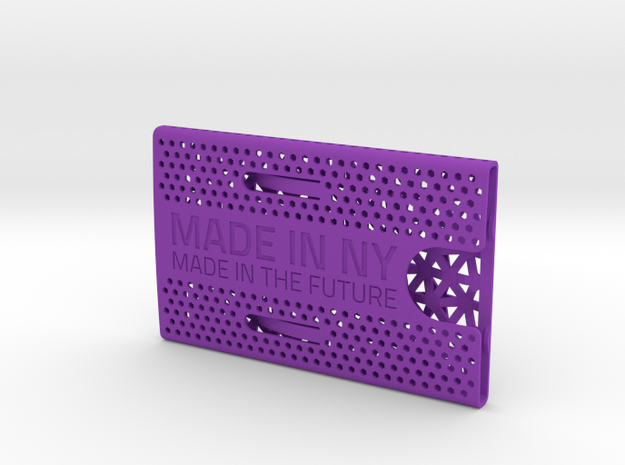 Business card case -Made in NY, Made in the Future