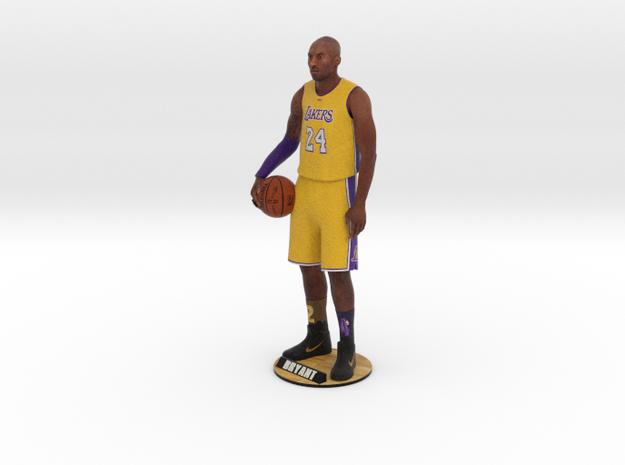 Kobe 1/8 Standing Figure in Natural Full Color Sandstone