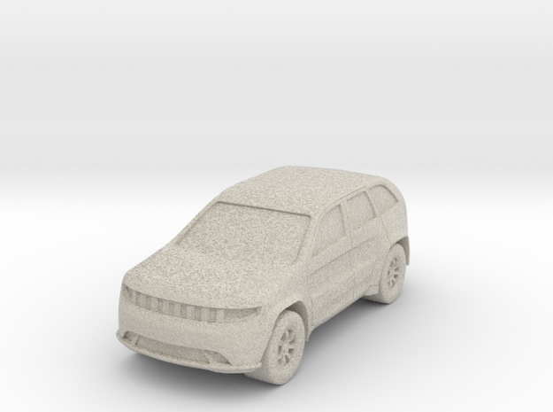 """SUV at 1""""=8' Scale in Sandstone"""