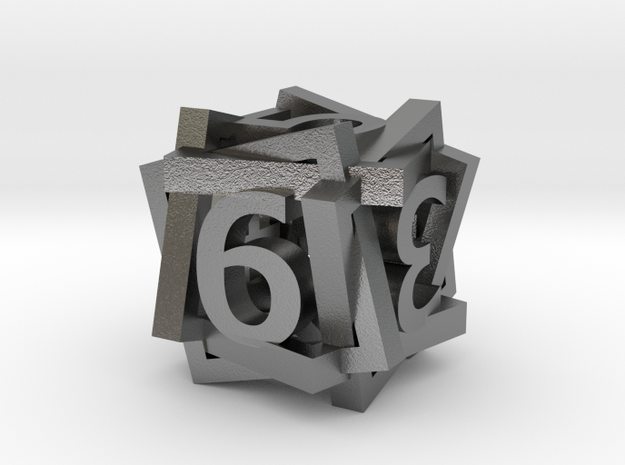Tilted Frame Die 3d printed