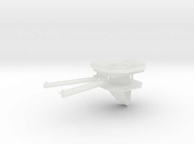 RhB signal - 1 aspect - stop in Smooth Fine Detail Plastic