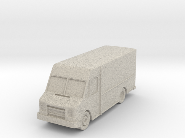 """Delivery Truck at 1""""=10' Scale in Sandstone"""