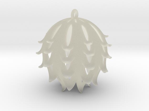 Pierced Thistle Ball 3d printed