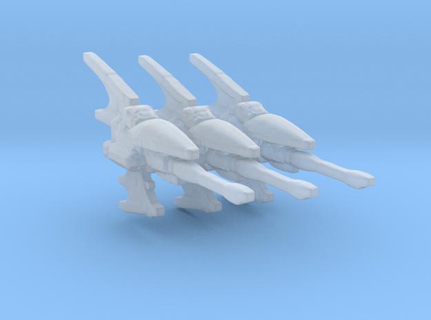 Eldar Navy Hemlock destroyer 3 models/fleet scale