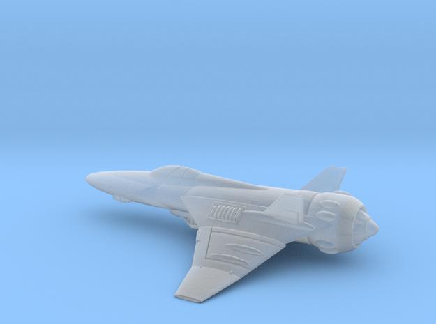 Space Interceptor  in Smooth Fine Detail Plastic