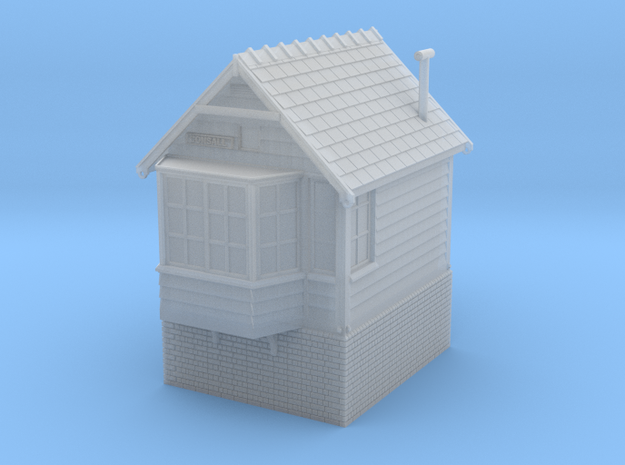CO21 Consall Signal Box in Smooth Fine Detail Plastic