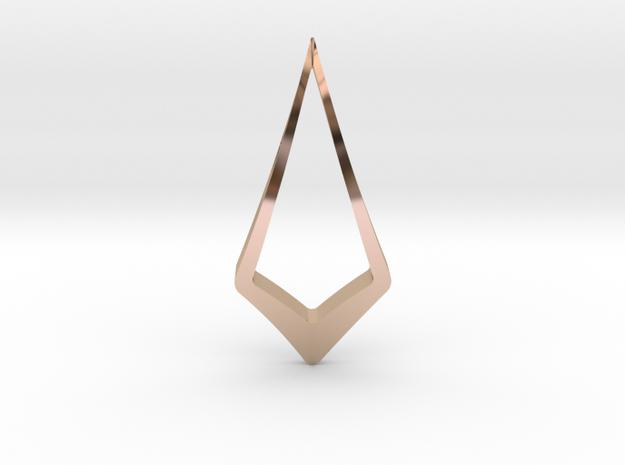 """Hidden Heart"" ENCOUNTER, pendant 3d printed"