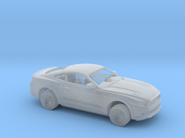 1/87 2015 Ford Mustang GT Kit in Smooth Fine Detail Plastic
