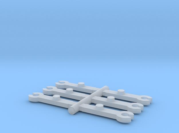 N Scale MRC-Rowa 2-8-4 & 2-8-8-2 Bell Crank in Smooth Fine Detail Plastic