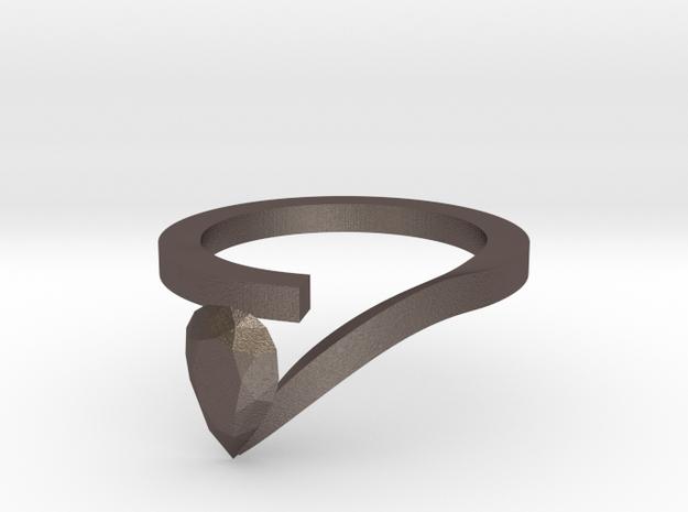 Pear Shaped Diamond Ring