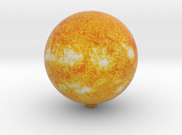 Sun 1:20 billion in Natural Full Color Sandstone