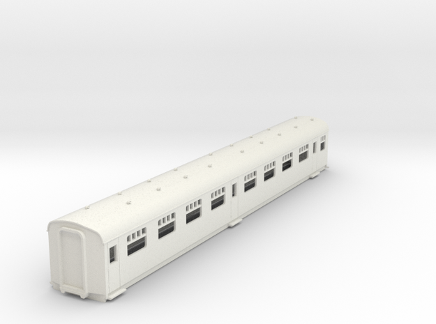 o-87-cl202-Hastings-DEMU-TSOL-trailer-2nd-coach in White Natural Versatile Plastic