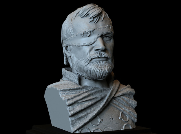 Beric Dondarrion from Game of thrones in White Natural Versatile Plastic