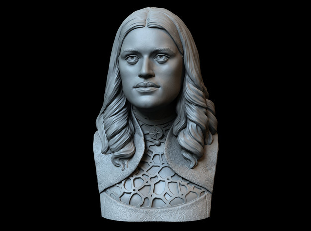 Yennefer of Vengerberg from The Witcher in White Natural Versatile Plastic