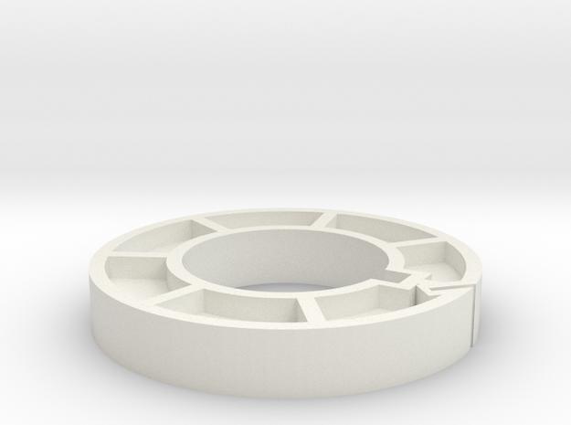 2in Core for Super8 in White Natural Versatile Plastic