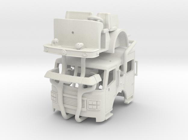1/87 2003-2007 Philadelphia ALF Engine Cab UPDATED in White Natural Versatile Plastic