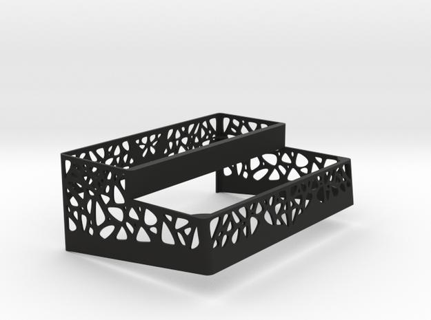 Strymon large pedal cover in Black Natural Versatile Plastic