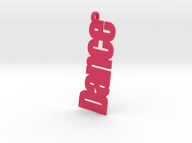 Dance charm 3d printed
