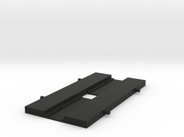 16mm Telecine Film Gate v004 in Black Natural Versatile Plastic