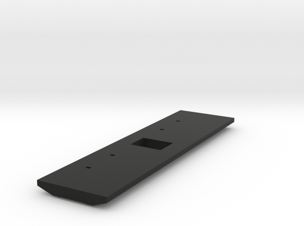 16mm Telecine Film Top Plate v004 in Black Natural Versatile Plastic