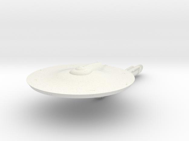2500 Trenton class TOS in White Natural Versatile Plastic