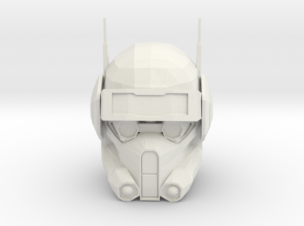 Clone Trooper Tech- The Bad Batch | CCBS Scale in White Natural Versatile Plastic