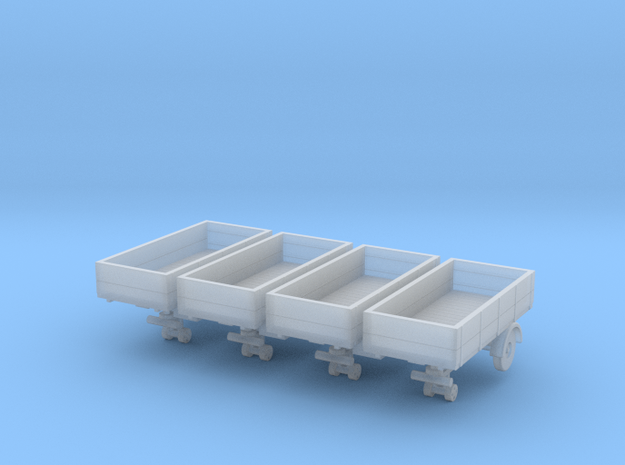 mh3-trailer-13ft-6ft-open-148fs-1-x4 in Smooth Fine Detail Plastic