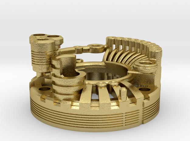Custom Request - Graflex Mentor Blade Generator in Natural Brass