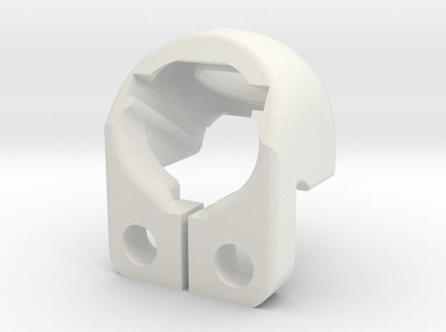 Cam mount Runcam Nano3 in White Natural Versatile Plastic