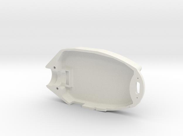 808 #16 lens d Headcase Bottom in White Natural Versatile Plastic