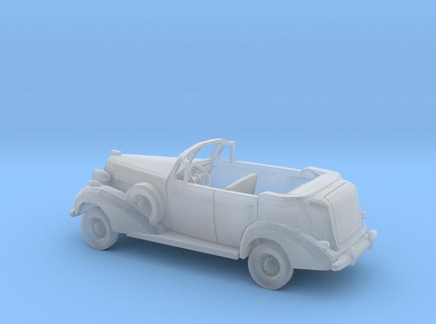 1/87 1936 Buick Sedan Convertible Open Pheaton Kit in Smooth Fine Detail Plastic