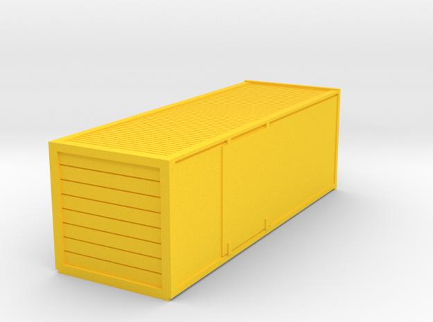Schweizer Postcontainer Spur TT in Yellow Processed Versatile Plastic