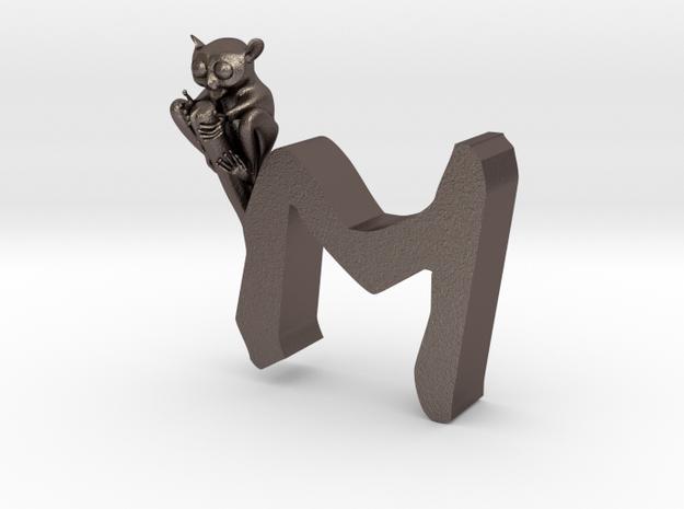 M-Kobold-Maki in Polished Bronzed-Silver Steel