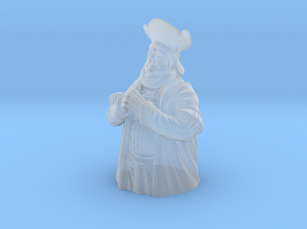 Hefty Federalist general half-size in Smooth Fine Detail Plastic